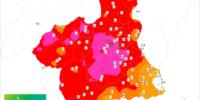 Casi toda la Región de Murcia por encima de los 30ºC